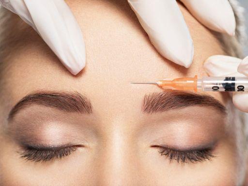 Botox-Faltenbehandlung